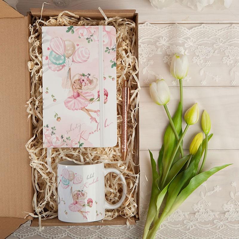 Prezent na urodziny dziewczynki w pudełku