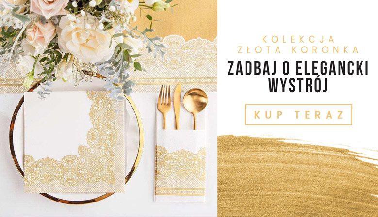 Kolekcja Złota Koronka - eleganckie dekoracje