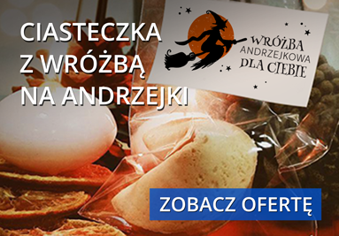 Ciasteczka z wróżbą na Andrzejki!