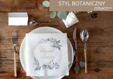 Styl botaniczny na przyjęcia