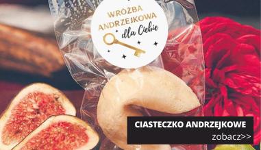 Ciasteczko z wróżbą na Andrzejki